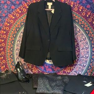 Women's Worthington Black Blazer
